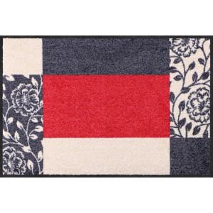 Schmutzfangmatte Frame red waschbar Salonlöwe Fußmatte