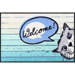 Fußmatte-eingangsbereich-katzen-welcome-cat-salonlöwe