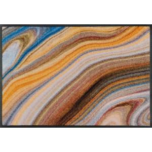 wash+dry Fußmatte Granito waschbar Detailansicht