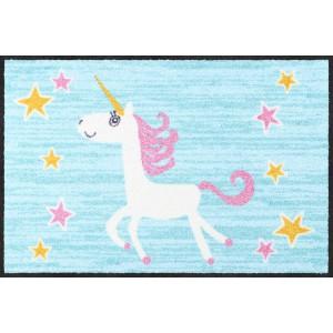 Fußmatte-eingangsbereich-happy-unicorn-salonlöwe