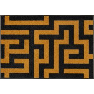 wash+dry Fußmatte Labyrinth waschbar Detailansicht