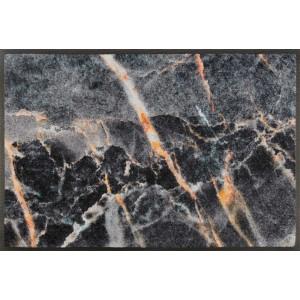 wash+dry Fußmatte Mineral Stone waschbar Detailansicht