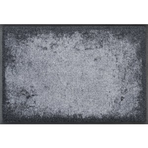 wash+dry Fußmatte Shades of Grey waschbar Detailansicht