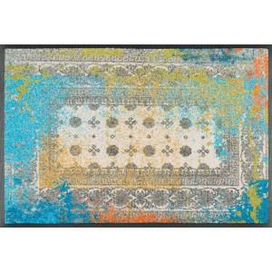 wash+dry Fußmatte Taza Blue waschbar Detailansicht