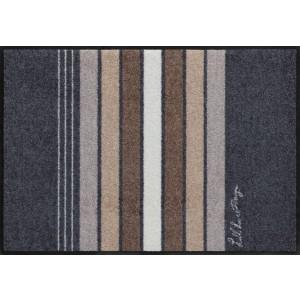 Schmutzfangmatte SalonlöweBlock Stripes Grey waschbar