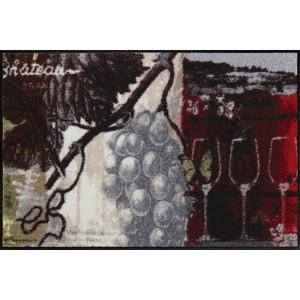 Schmutzfangmatte Chateau Grand Vin waschbar Salonlöwe