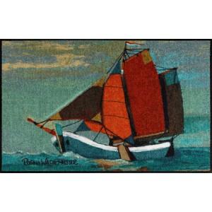 Fußmatte Salonlöwe Rosina Wachtmeister Sail Away waschbar