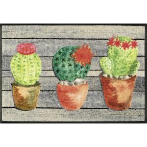 Fußmatte wash+dry Jardin de Cactus waschbar Detailansicht