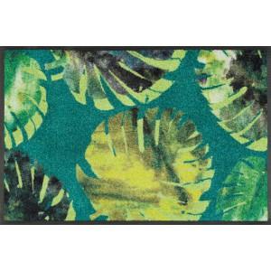wash+dry Fußmatte Philo Leaves waschbar Detailansicht