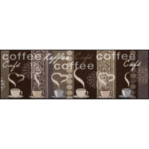 Küchenmatte Kaffeehaus waschbar