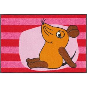 Teppich Kinderzimmer wash+dry Die Maus waschbar Detailansicht