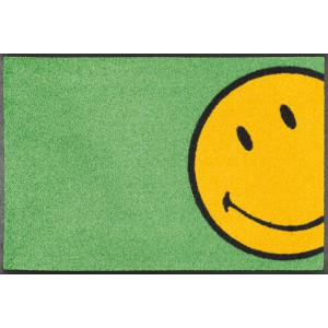 Teppich Kinderzimmer wash+dry Smiley Hidden waschbar Detailansicht