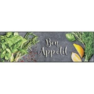 Küchenläufer Schmutzfangmatte Bon Appétit wash+dry waschbar Ansicht