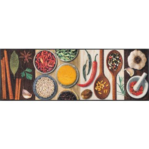 Küchenläufer Schmutzfangmatte Hot Spices wash+dry waschbar Ansicht