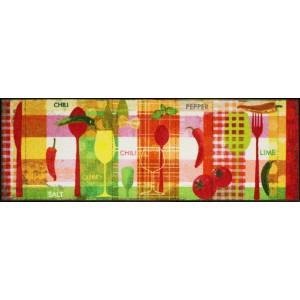 Salonlöwe Küchenläufer Kitchen Collage waschbar