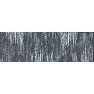 Küchenläufer Schmutzfangmatte Scratchy Grey  wash+dry waschbar Ansicht