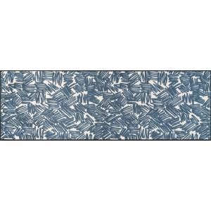 Küchenläufer Schmutzfangmatte Urban Lines Blue wash+dry waschbar Ansicht