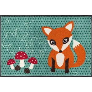 Fußmatte wash+dry Lee the little Fox waschbar Detailansicht