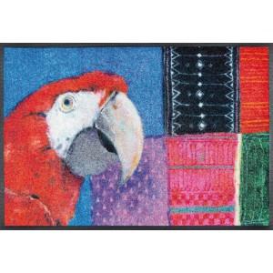 Fußmatte wash+dry Paradise Papagei waschbar Detailansicht