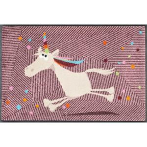 Fußmatte wash+dry Einhorn Marilou waschbar Detailansicht