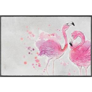Fußmatte wash+dry Flamingo waschbar Detailansicht