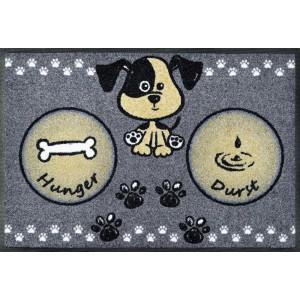 Fußmatte wash+dry Hundemahlzeit waschbar Detailansicht