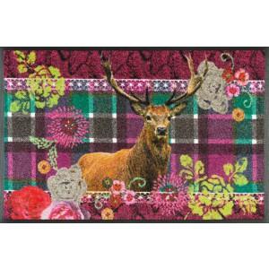 wash+dry Fußmatte Knitty Wild waschbar Detailansicht
