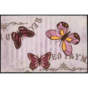 Schmutzfangmatte Salonlöwe Schmetterling Rosalind waschbar