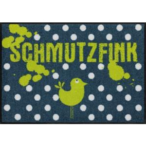 Fußmatte Schmutzfink Salonlöwe waschbar