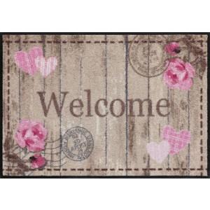 Salonlöwe Fußmatte Welcome Roses