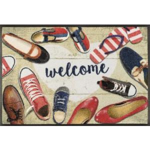 Fußmatte wash+dry Shoes Welcome waschbar Detailansicht