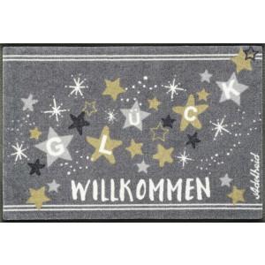 Fußmatte wash+dry Sternenglück waschbar Detailansicht