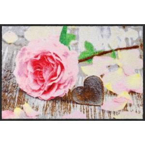 Fußmatte-eingangsbereich-Rosenblättchen-salonlöwe