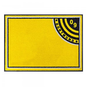 Fußmatte Fußball Dortmund Premium ohne Ball
