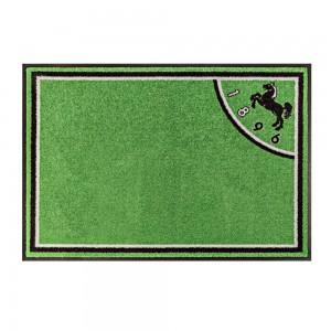 Fußmatte Fußball Hannover Premium ohne Ball