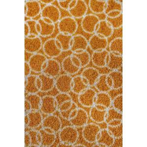Schmutzfangmatte Fußmatte ringe gold waschbar