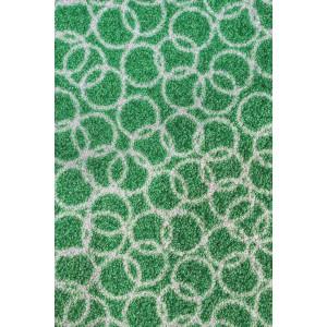 Fußmatte Schmutzfangmatte Ringe grün