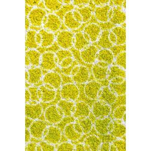 Fußmatte Schmutzfangmatte Ringe lindgrün