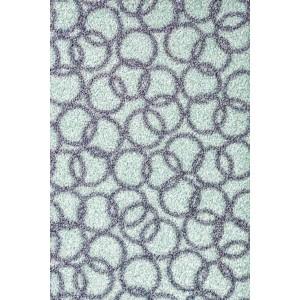 Schmutzfangmatte Fußmatte Ringe minze waschbar