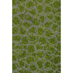 Schmutzfangmatte Fußmatte Ringe moosgrün waschbar