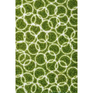 Schmutzfangmatte Fußmatte Ringe moosgrün