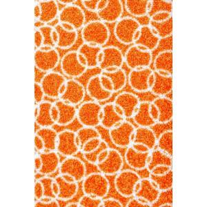 Schmutzfangmatte Fußmatte Ringe orange