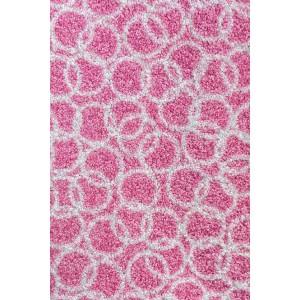 Schmutzfangmatte Fußmatte rosa waschbar