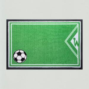 Fußball Bremen 85x115cm mit Trittrand Sonderposten