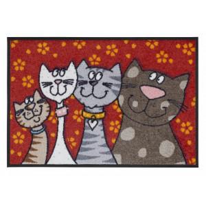 Salonlöwe Fußmatte Katzenfamilie