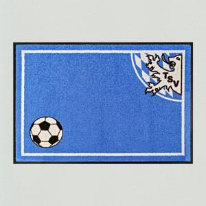 Fußmatte Fußball München blau Premium