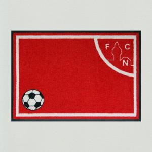 Fußmatte Fußball Nürnberg Premium