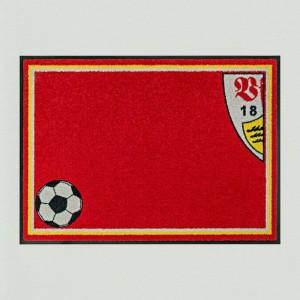 Fußmatte Fußball Stuttgart Premium