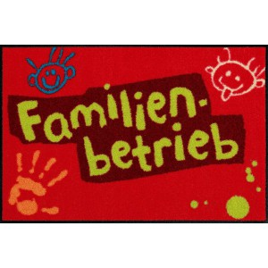 Salonlöwe Fußmatte Familienbetrieb