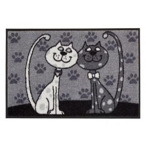Salonlöwe Fußmatte Katzenpärchen